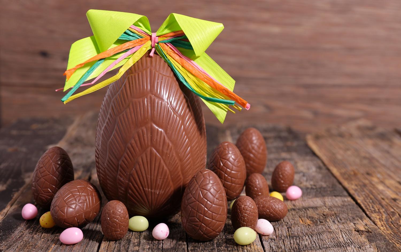 Uove cioccolato per Pasqua